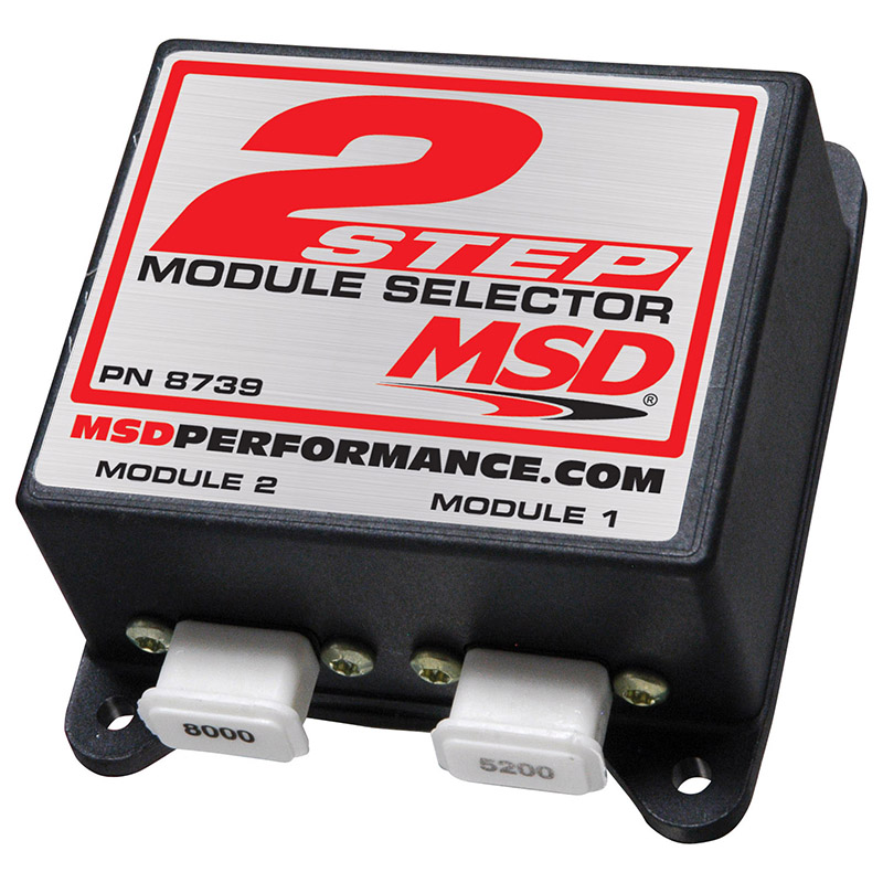 msd ignition, 2-step module selector