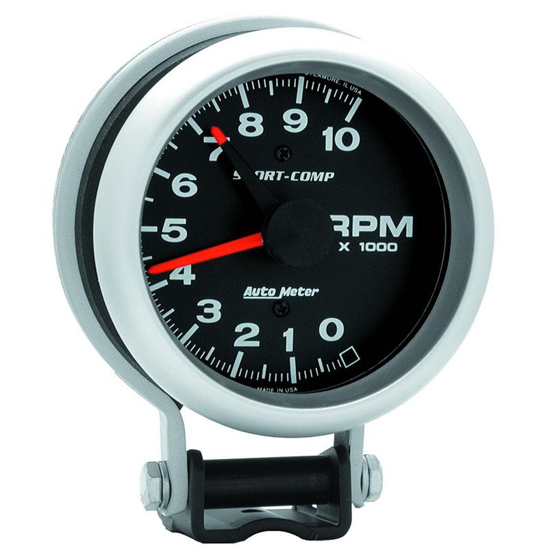 Auto Meter  Sport 4 U0026quot   10 000 Rpm