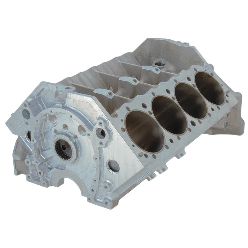 Brodix aluminum block chev sb main quot bore