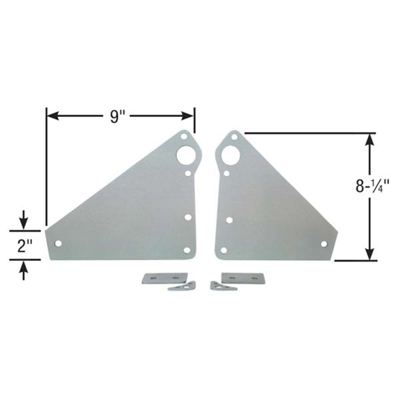 Competition Engineering C4031 Mid Mount Plate GM