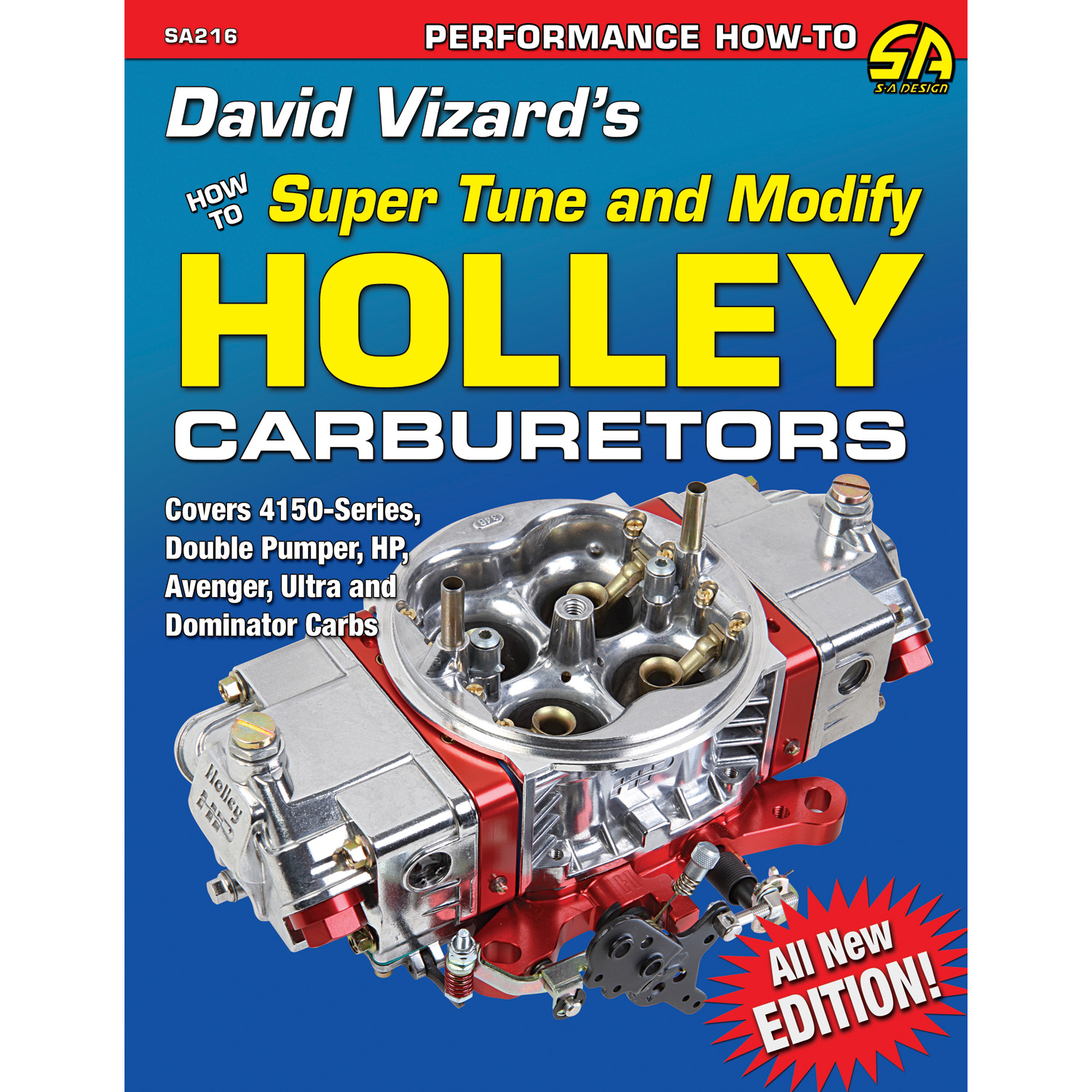 SA Design, Super Tune & Modify Holley Carburetors - Competition Products