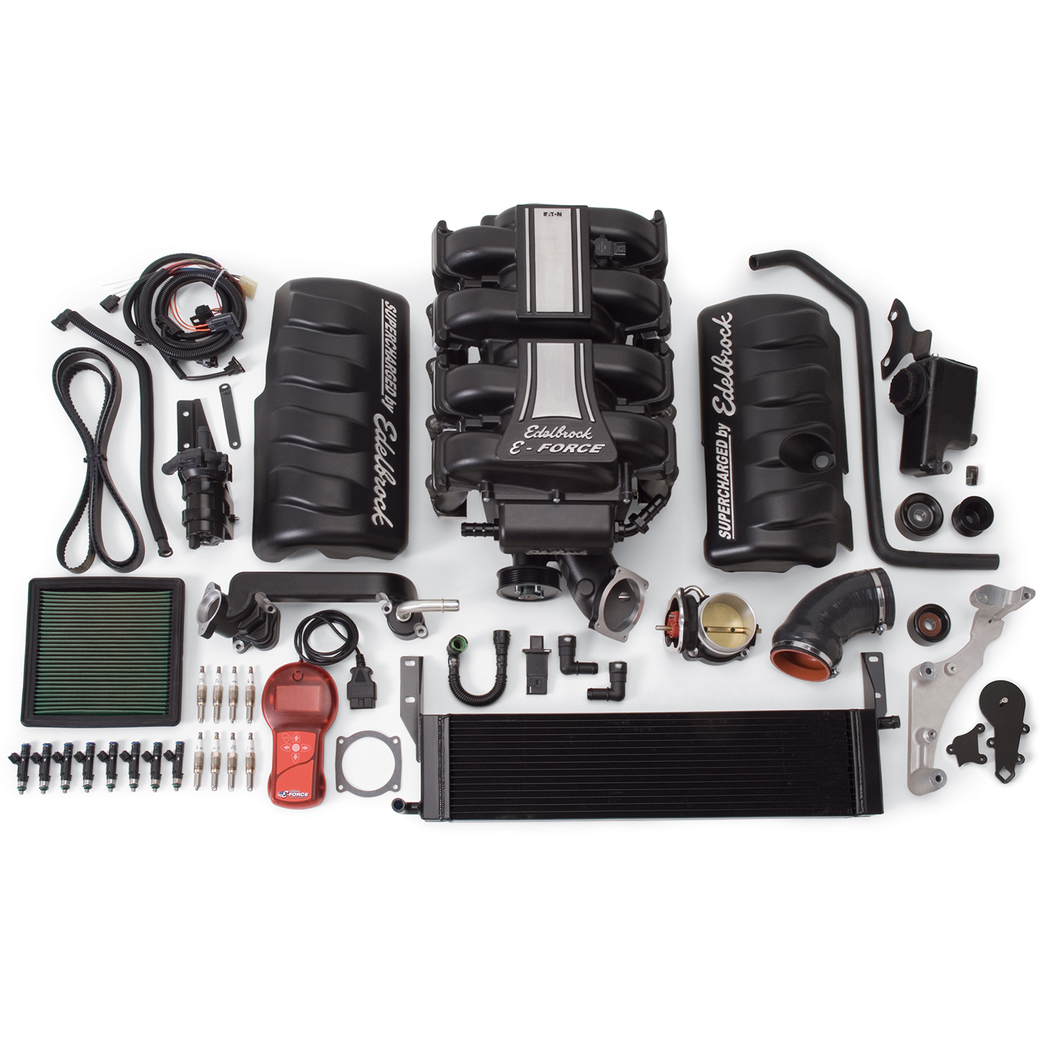 Edelbrock E-Force Stage 1 Supercharger System, Ford Mustang