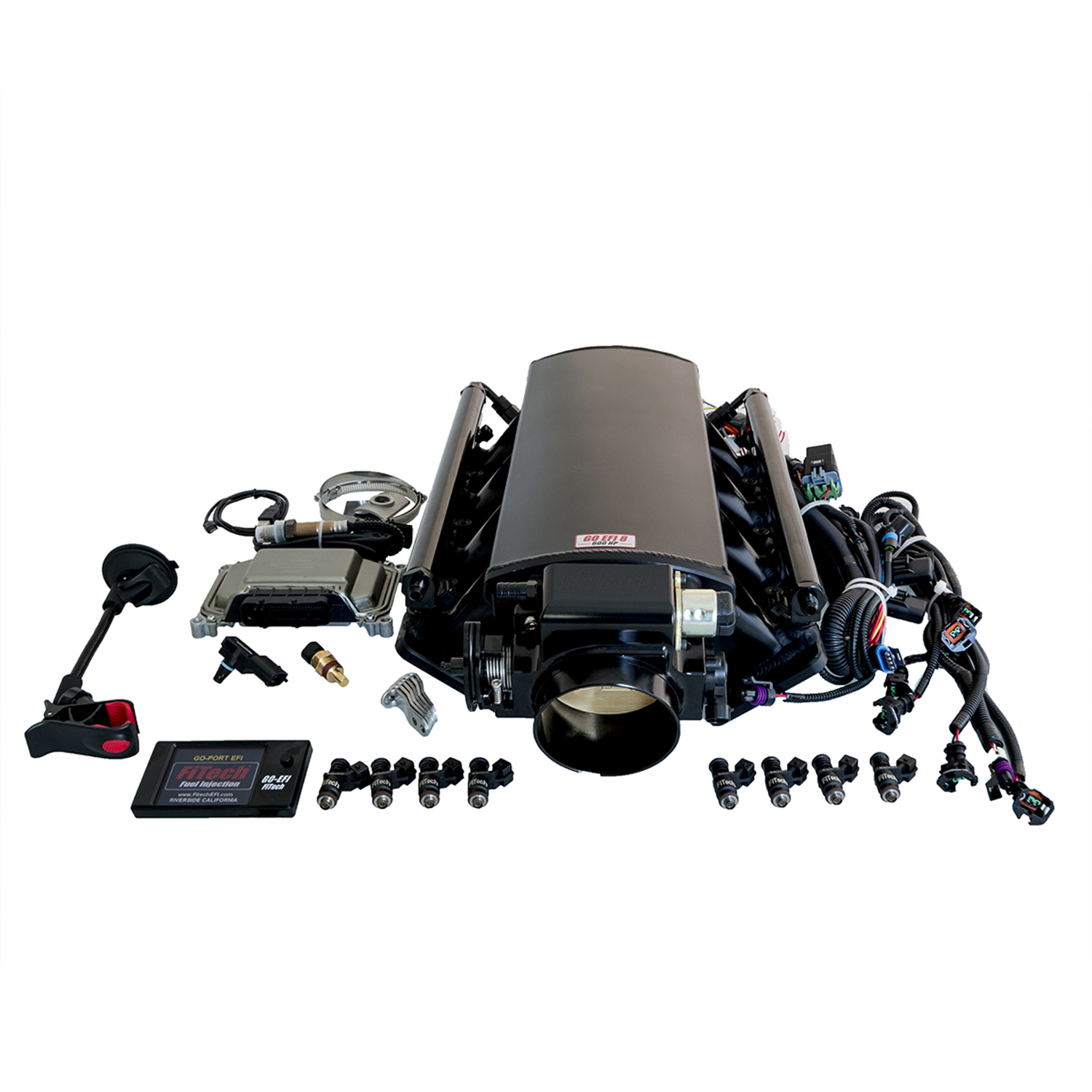 Fitech Ultimate Ls Induction System Ls1 2 6 Up To 750hp Without Street Rod Wiring Harness For Trans Control