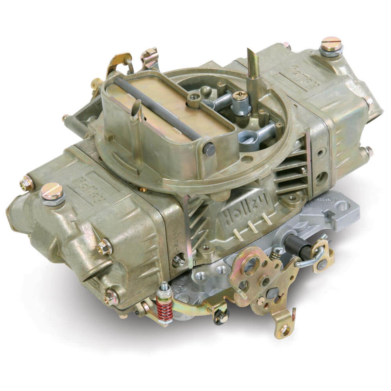 Holley Double Pump Carburetor, 650 cfm, Manual Choke