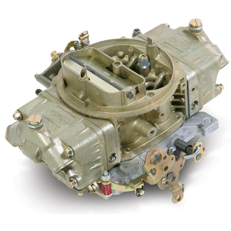 Holley Double Pump Carburetor, 850 cfm, Manual Choke