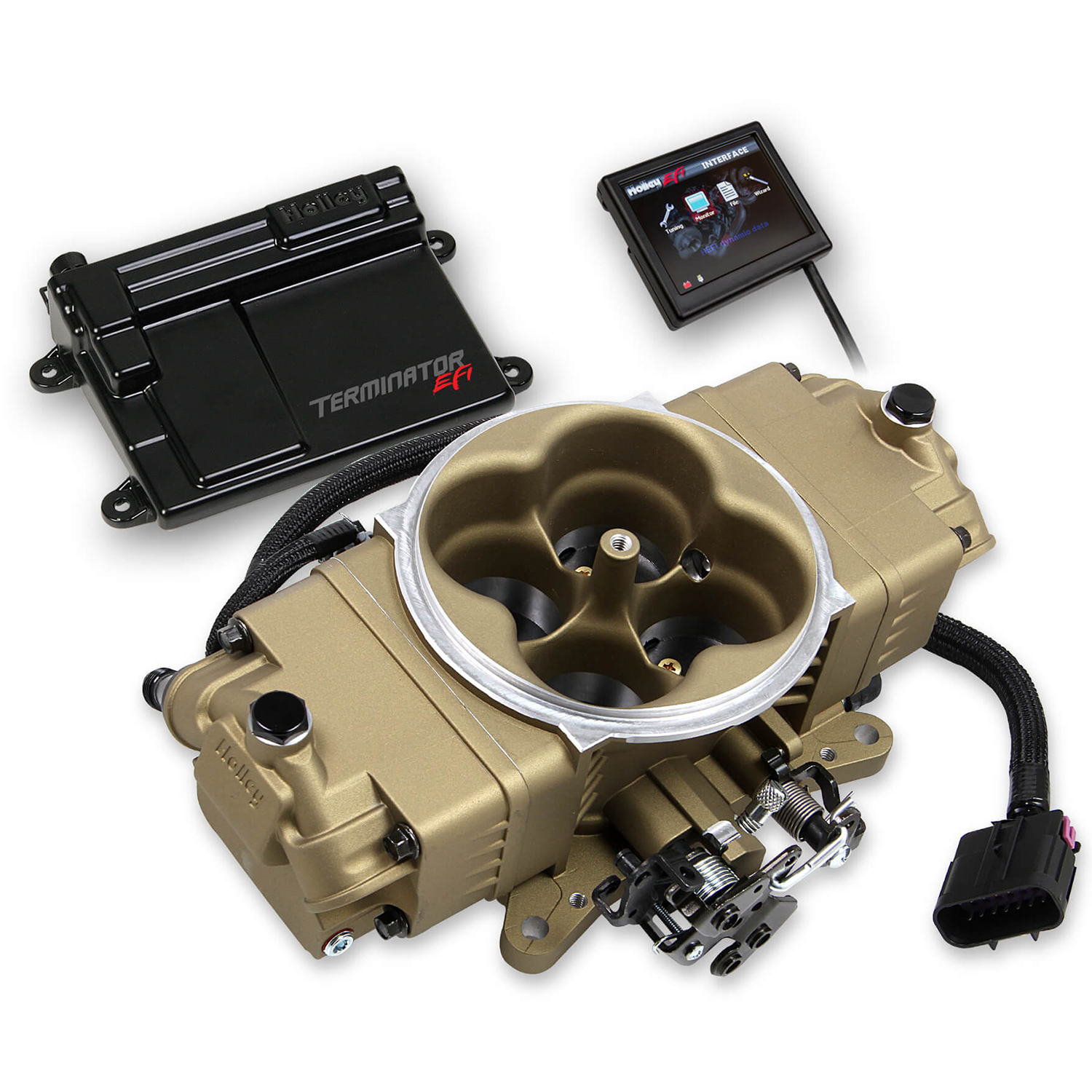 Holley® Performance Products Terminator Stealth EFI Self-Tuning Fuel  Injection Master Kit