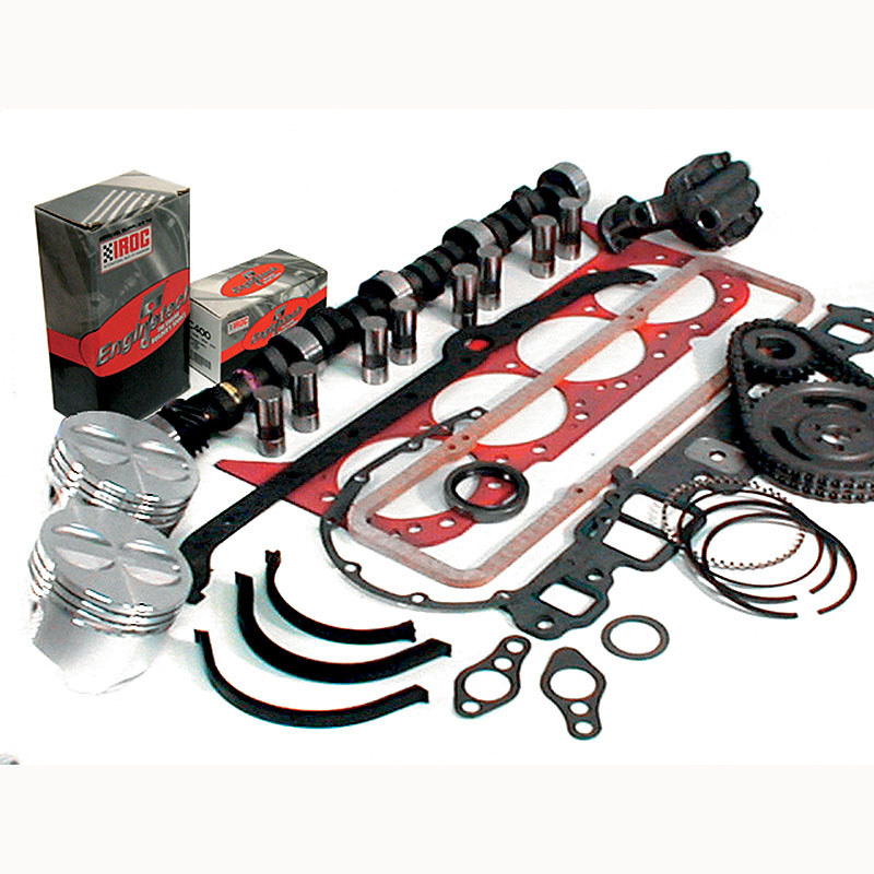 Enginetech Engine Rebuild Kit Chevy 350 86-89 Rings Bearings Gaskets