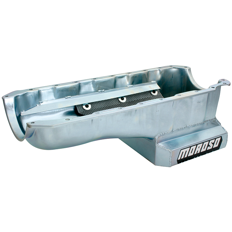 Moroso, Kicked-Out Sump Oil Pan, Street/Strip, Chev BB Mark