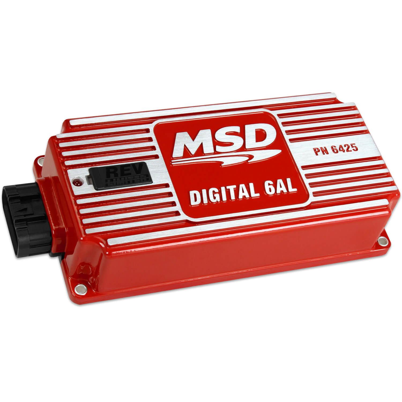 msd rpm switch wiring diagram msd ignition  6al digital ignition control w rev limiter  red  ignition control w rev limiter