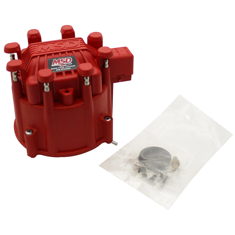 Msd Ignition Distributor Cap Gm Hei W Coil Cover
