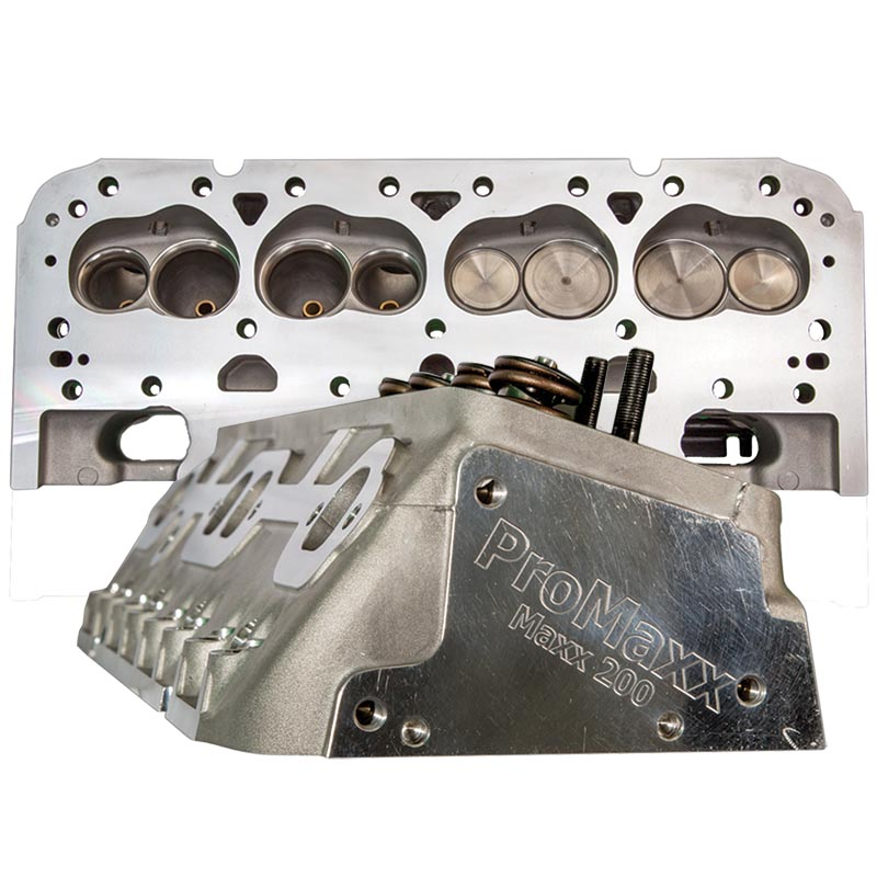 ProMaxx, Maxx Series Chev SB Aluminum Heads, 183cc/64cc