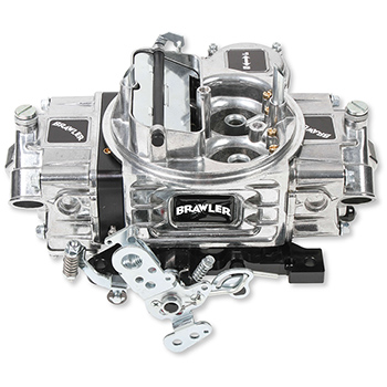 Brawler Vacuum Secondary Street Carburetor, 4 Barrel, 750 cfm