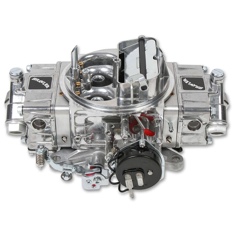 Brawler Diecast Mechanical Secondary Carburetor, 4 Barrel