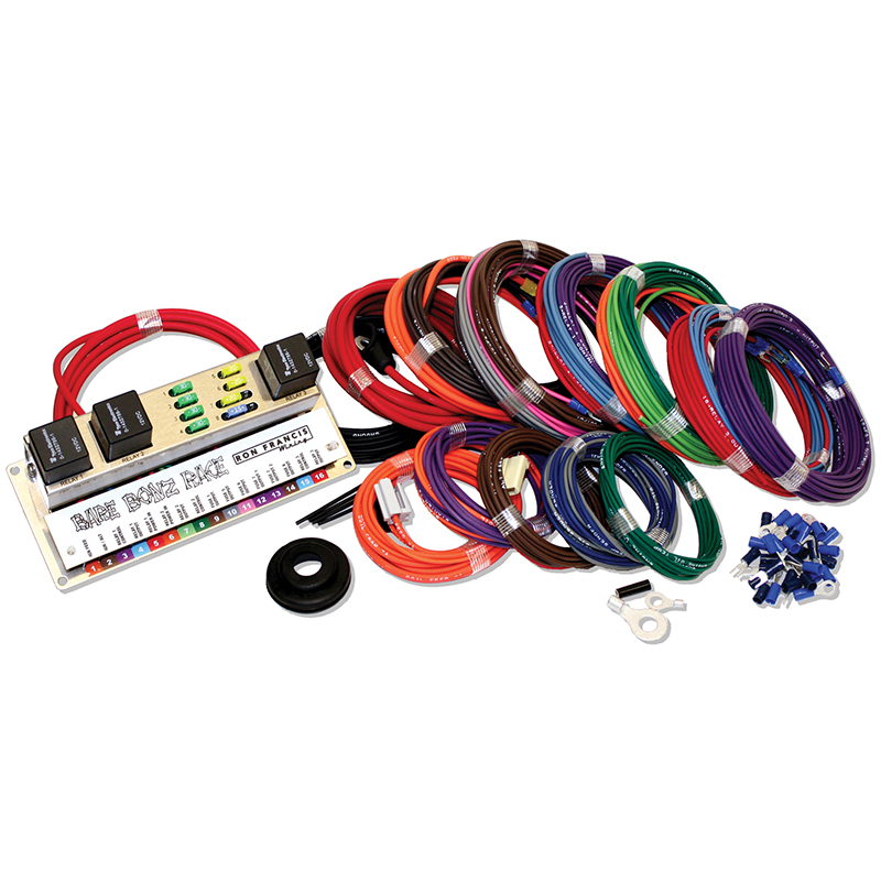 ron francis wiring bare bonz race wiring harness competition rh competitionproducts com race car wiring harness kit hayabusa race wiring harness