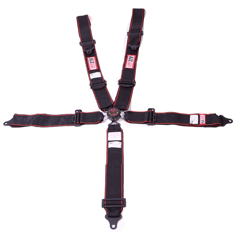 Rjs Sfi Camlock Harness 5 Point Individual Shoulder Roll