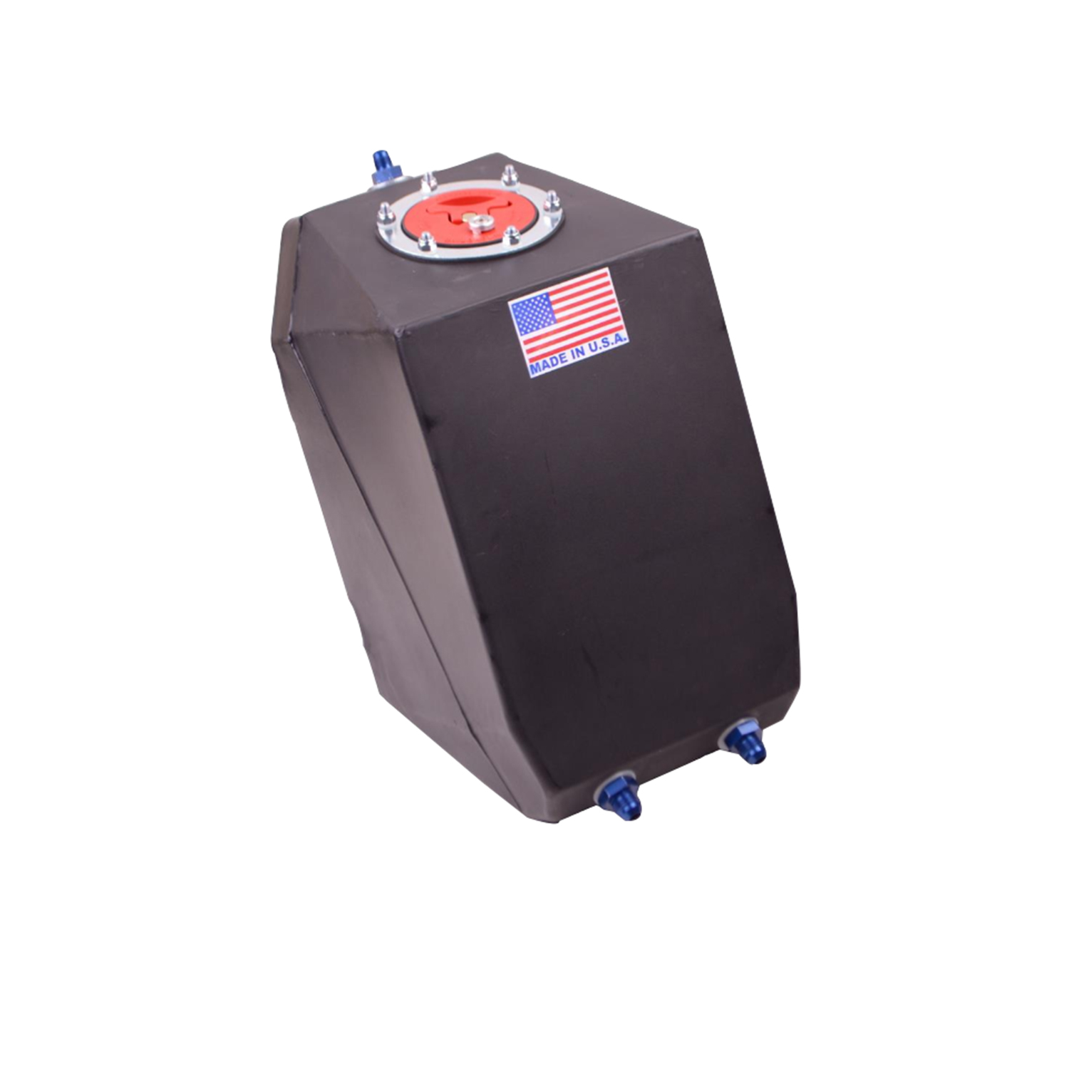 RJS Drag Race Fuel Cell, 4 Gallon Upright, Aircraft Style