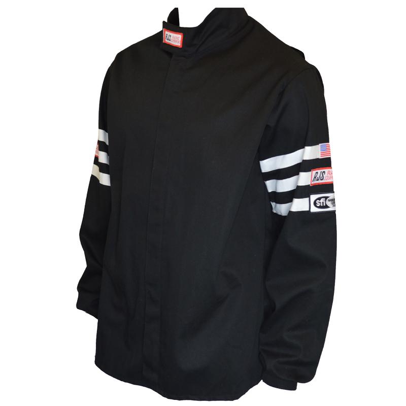 Rjs Sfi 3 2a 1 Single Layer Racing Jacket Black 5x