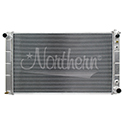Northern, Muscle Car Direct Mount Aluminum Radiator, Buick/Chevrolet/GMC/Oldsmobile/Pontiac, 33