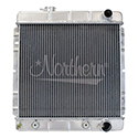 Northern Radiator, Muslce Car Direct Mount Aluminum Radiator, Ford/Mercury, w/Auto Trans., 20-1/4