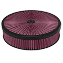 Power Products, Flo-Thru Recessed Base Air Cleaner, 14