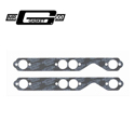 Mr Gasket Ultra-Seal Exhaust Header Gasket, Chev Smal Block, Round Port, 1.60
