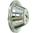 Chrome Steel Water Pump Pulley, Chev SB, Short WP, Single