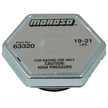 Moroso Racing Radiator Cap 19 21 Lbs Competition Products