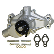 Power Products Water Pump, SB Chev, Race, Short, Satin