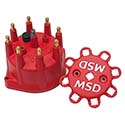 MSD, Distributor Cap, MSD Small, Red