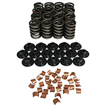 Howards, Valve Spring, Retainers, and Locks Kit, 3/8