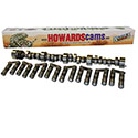 Howards Cams, Rattler Retro-Fit Hydraulic Roller Camshaft & Lifter Set, Chev SB, 227/235 @ .050, .525/.530 109 LS