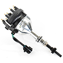 E3, Diamond Fire Racing Distributor, Ford 5.0L TFI, w/ Remote Mounted Module, Black Cap