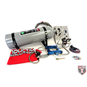 Induction Solutions, SledgeHammer Complete Nitrous Kit, Adjustable, 150-550+ HP, 4150, Gray Bottle