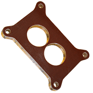Jomar, Phenolic Carb Spacer, Holley 2300 2bbl , 1/2