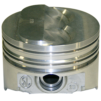 KB Performance Pistons, Hypereutectic Pistons, Chev 327, Solid Dome