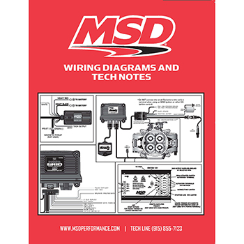 msd ignition, wiring diagrams and tech notes book