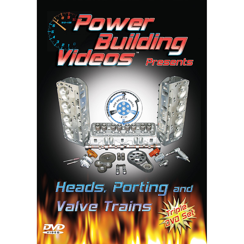 Auto Shop Videos, Heads, Porting & Valve Trains, DVD