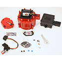 PerTronix, HEI Race Only Tune-Up Kit, HEI III Integrated Multi-Spark and Digital Rev Limiter Module, Red Cap