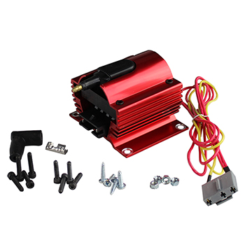 Power Products, Power Plus HV Coil, 50,000 V, Red