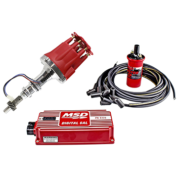 Power Products, Billet Racing Ignition Kit, Ford 351W, Red