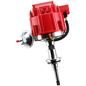 Power Products, HEI Distributor, Dodge/Chrysler SB, Vacuum Advance, Red Cap