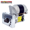 Power Products, Power Plus Mini Starter, Chev SB/BB with Staggered Mount & 168T