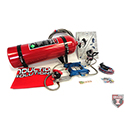 Induction Solutions, SledgeHammer Complete Nitrous Kit, Adjustable, 150-550+ HP, 4150, Red Bottle