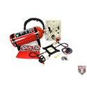 Induction Solutions, Saturday Night Special Complete Nitrous Kit, 100-300 HP, 4150, Red Bottle