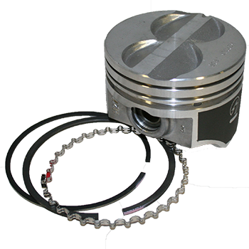 """Sealed Power Ford 289 302 4.030/"""" Flat Top Pistons /& Moly Rings Kit SBF H273CP30"""
