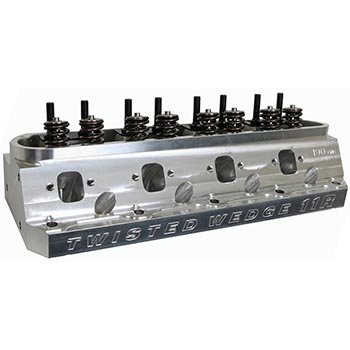 Trick Flow, Twisted Wedge 11R 190 CNC Ported Ford Small Block Aluminum Head, 190cc/56cc, Assembled, Each