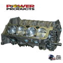 Power Products, Chev SB Short Block w/Lightweight Assembly, 357ci, Dome