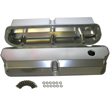 Fabricated Aluminum Valve Covers, Ford SB, Short-Bolt Design, Tall w/Breather Hole, Pair